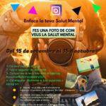 III Concurs de Fotografia d'Instagram 2021 «ENFOENFOCA LA TEVA SALUT MENTAL»